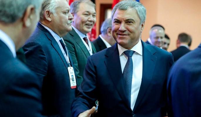 Володина избрали председателем ПА ОДКБ