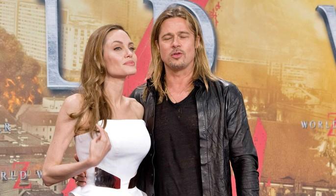 Перепуганный до смерти Брэд Питт боится страшной мести Анджелины Джоли