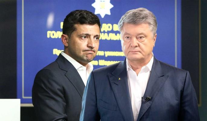 Стало известно о тайной связи Зеленского и Порошенко
