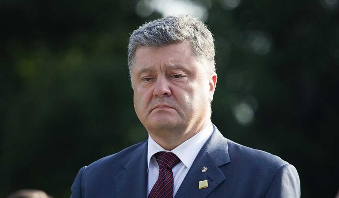 Расплакавшегося из-за Крыма Порошенко подняли на смех