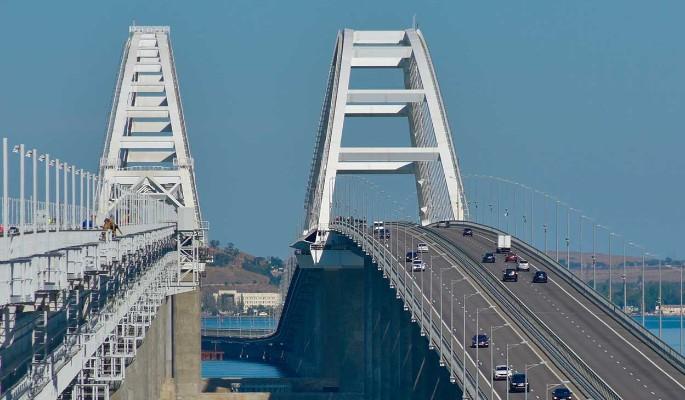 Угрозы Крымскому мосту выставили Киев на посмешище