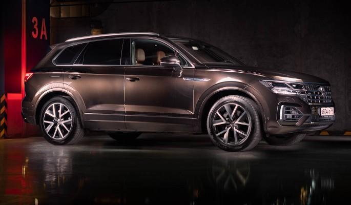 Volkswagen Touareg: новый день, новый образ