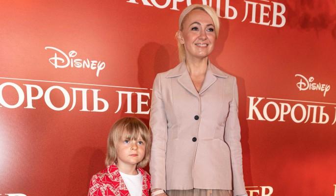 Рудковская отказалась жалеть плачущего сына