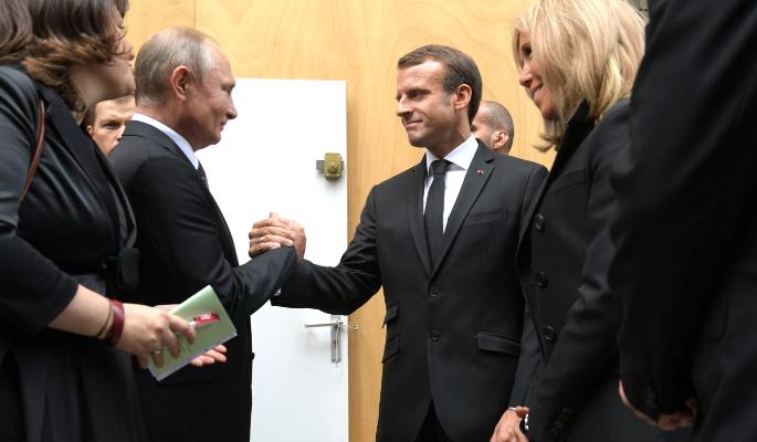 Путин и Макрон провели переговоры об Украине