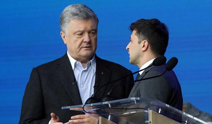В Сеть утекли сенсационные подробности сговора Порошенко и Зеленского