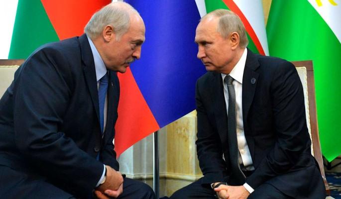 Путин поставил на место разинувшего рот на Кремль Лукашенко