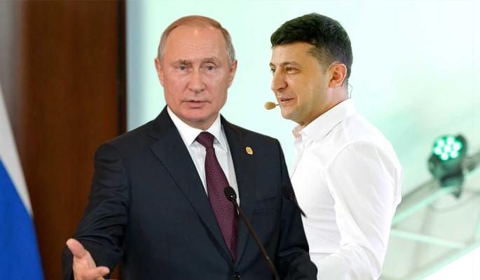 Позорное шоу: встреча Путина и Зеленского вызвала ужас на Украине