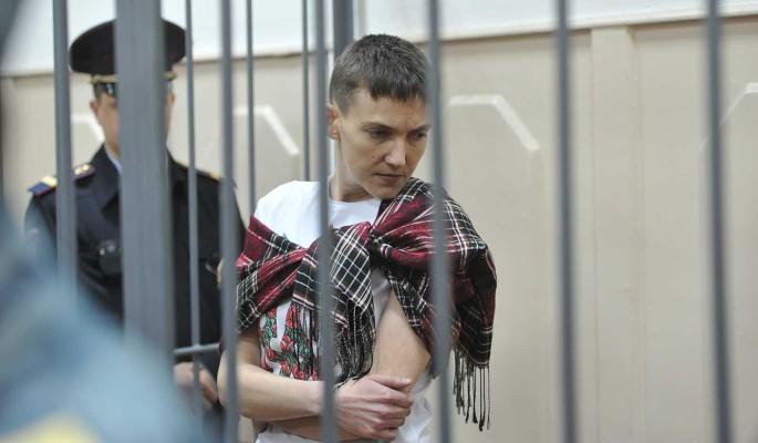 Надежда Савченко обматерила журналиста