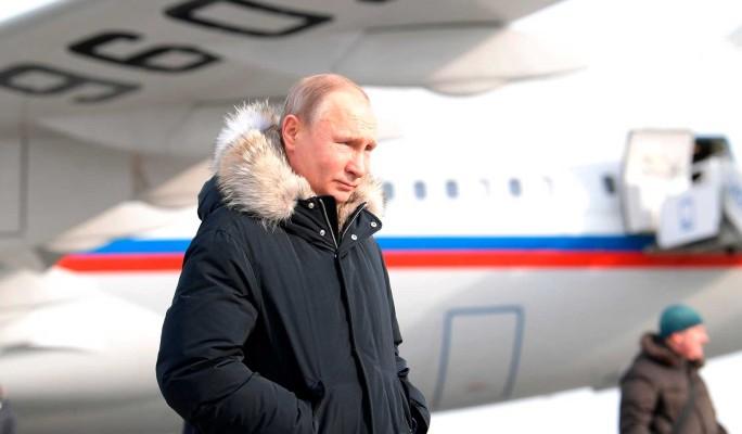 Пилот Путина показал чудеса мастерства в жутких условиях