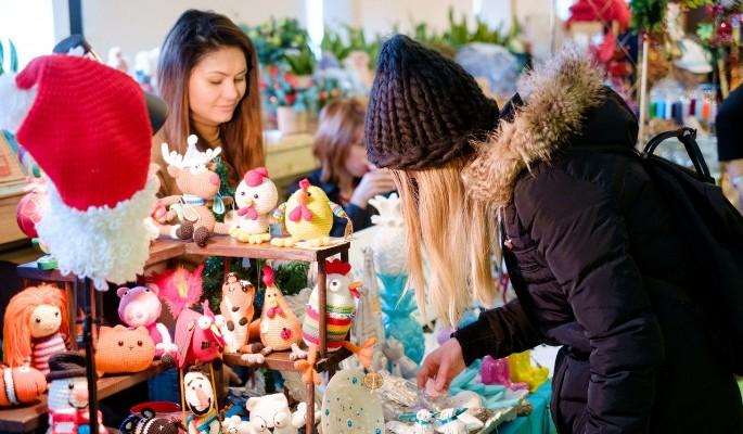 На Флаконе пройдет новогодняя арт-ярмарка Happy Market