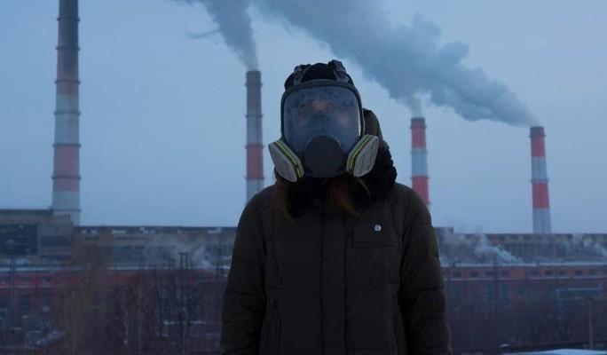 Кемерово окутал густой смог