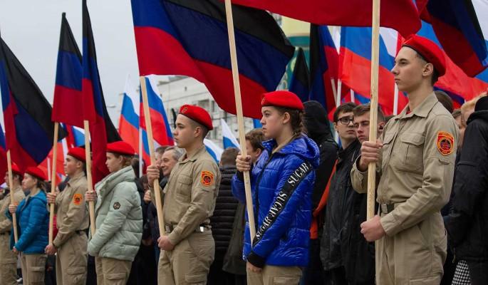 В России недовольны выдачей паспортов жителям Донбасса