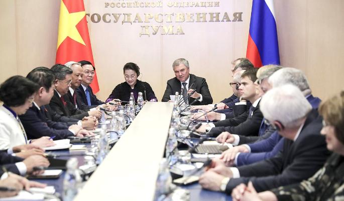 Парламенты России и Вьетнама выходят на новый уровень сотрудничества