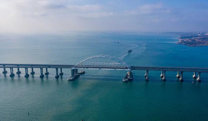 Украинцы лишились дара речи от происходящего на Крымском мосту