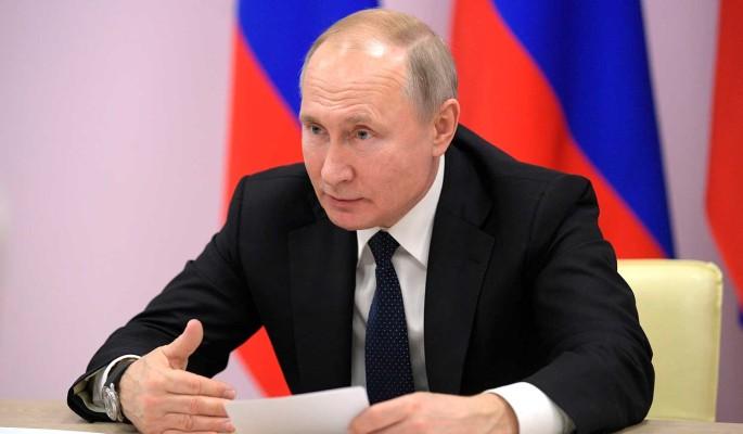 Стало известно об отмене публичных выступлений Путина