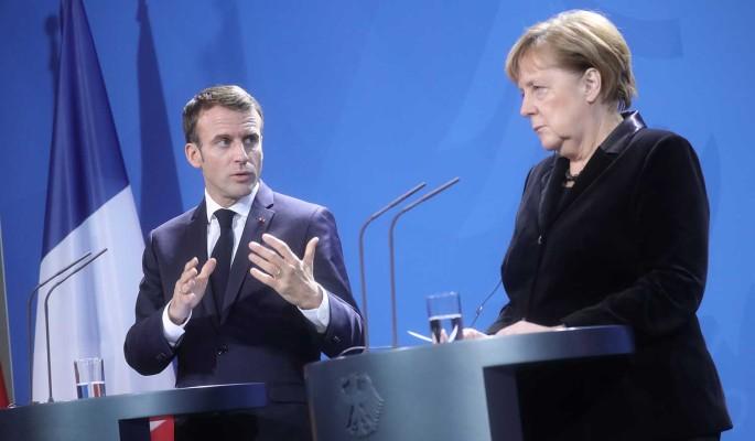 Казус с Путиным вызвал переполох: Меркель и Макрон в шоке (видео)
