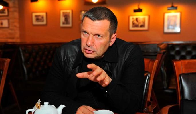 Владимир Соловьев публично разрыдался
