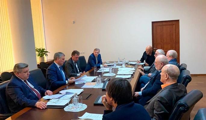 Володин провел заседание попечительского совета ВГИК