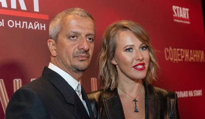 Прорвавшаяся на Первый канал Собчак осчастливила Борисова