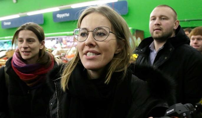 Появление Ксении Собчак на Первом канале завершилось провалом