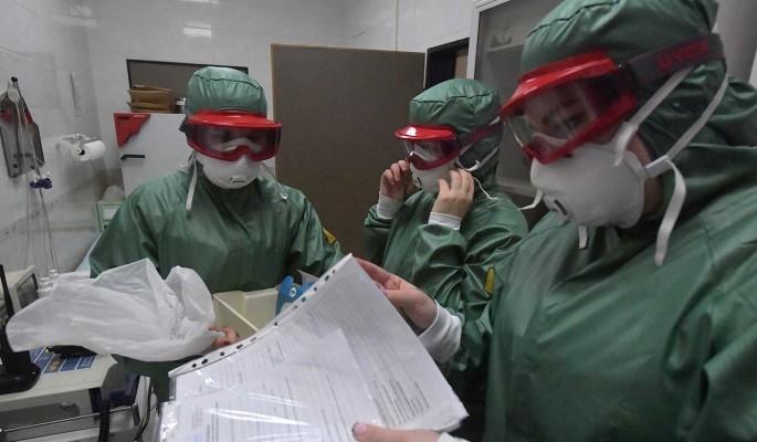 В центре Москвы проведут дезинфекцию из-за коронавируса