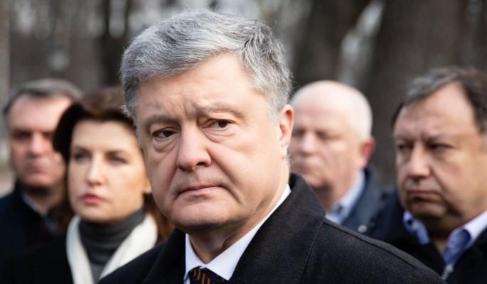 Сын прилюдно осрамил Порошенко