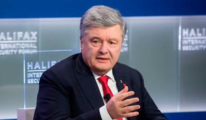 Паникующий из-за коронавируса Порошенко заявил о вине России
