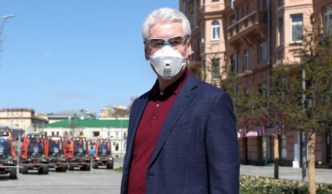 Собянин отказался отменять карантин в Москве