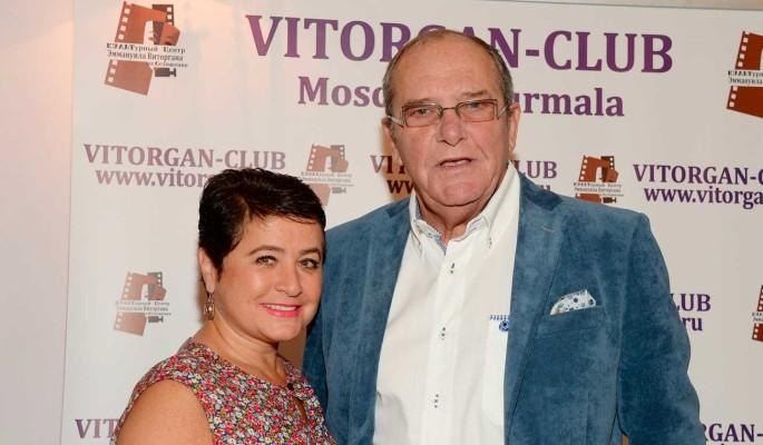 Жена Виторгана упала с двумя маленькими детьми