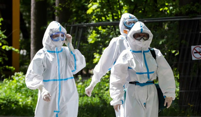 Коронавирус в России за сутки выявлен у 8 915 человек