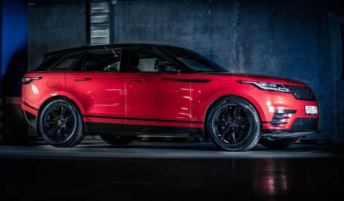 Range Rover Velar: главное – вовремя убрать ручки