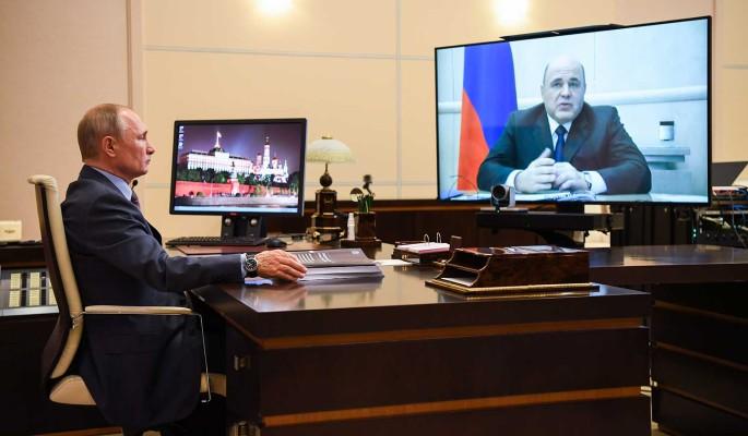 Правительство представило Путину план восстановления экономики