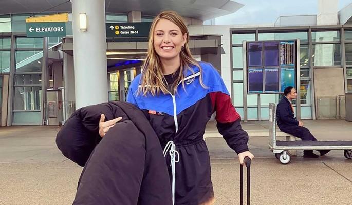 Мария Шарапова получила звание чемпионки по стонам на корте