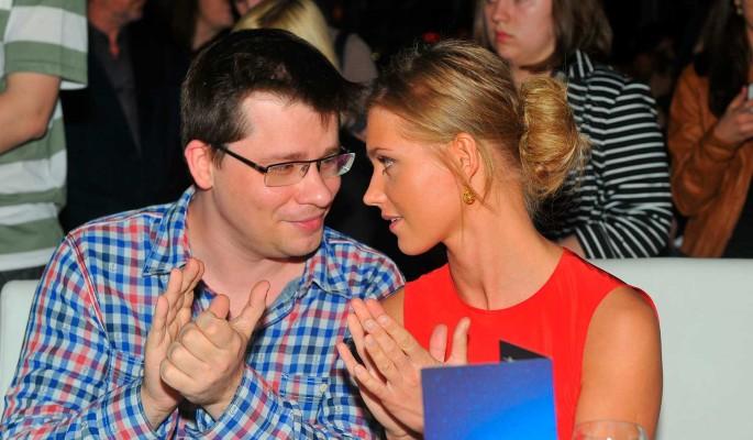 Кристина Асмус и Гарик Харламов. Фото: Pravda Komsomolskaya/Russian Look/www.globallookpress.com