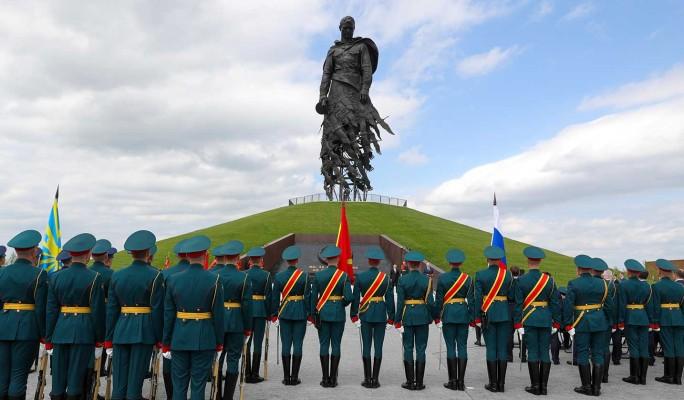 В Тверской области прошла церемония открытия Ржевского мемориала Советскому солдату