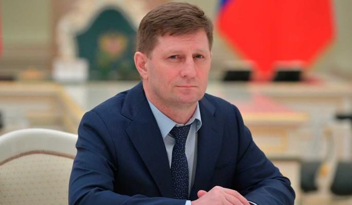 Видео задержания губернатора Хабаровского края Фургала: его подозревают в убийстве