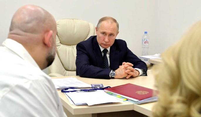 Путин оценил ситуацию с коронавирусом в России: летальность в разы ниже
