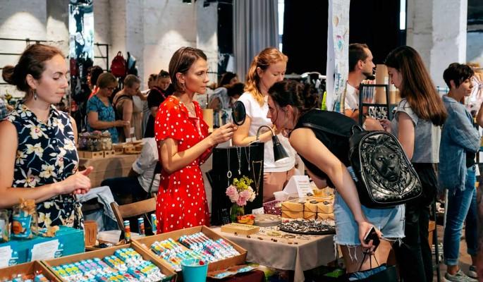 Во Флаконе пройдет летняя арт-ярмарка Happy market