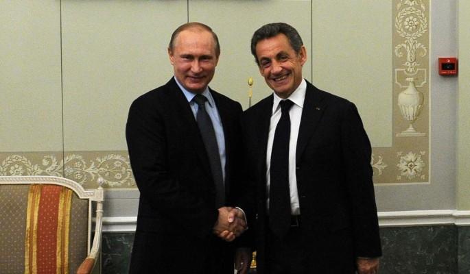 Как Путин и Саркози последнюю шоколадку делили