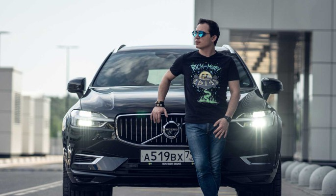 "Volvo XC60: скажите ""гибрииииид""!"