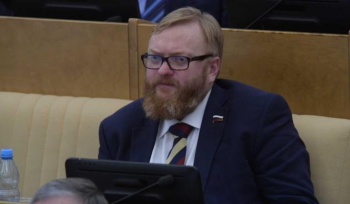 Милонов поддержал предложенные Осташко меры преследования преступников ВСУ