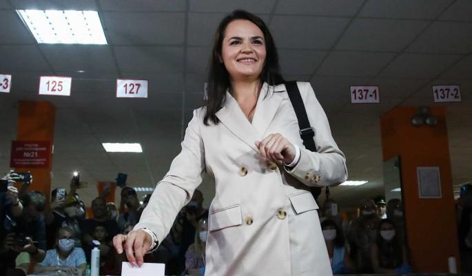 Тихановская отказалась признавать итоги выборов в Белоруссии