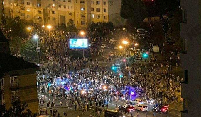 Как прошла третья ночь протестов в Белоруссии