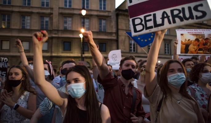 ЕС предупредил Белоруссию о санкциях за насилие против демонстрантов