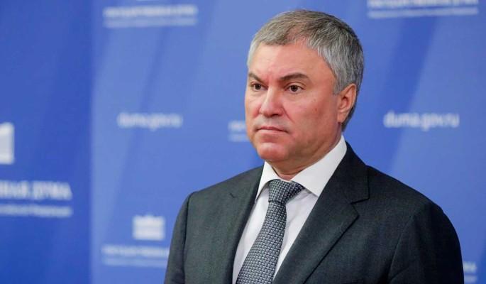 Володин в 2019 году направил на благотворительность более 45 млн рублей