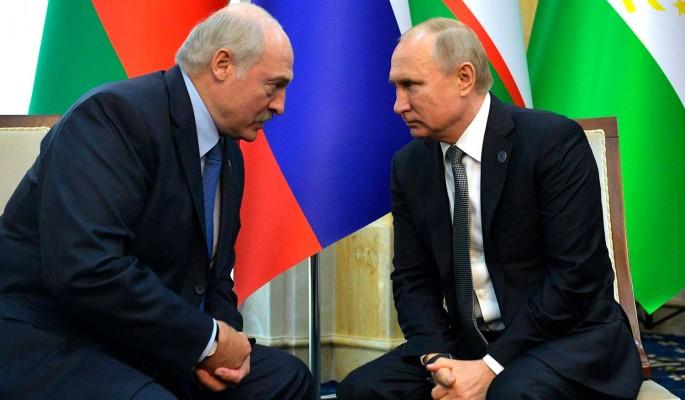 Лукашенко через Путина обратился к Меркель