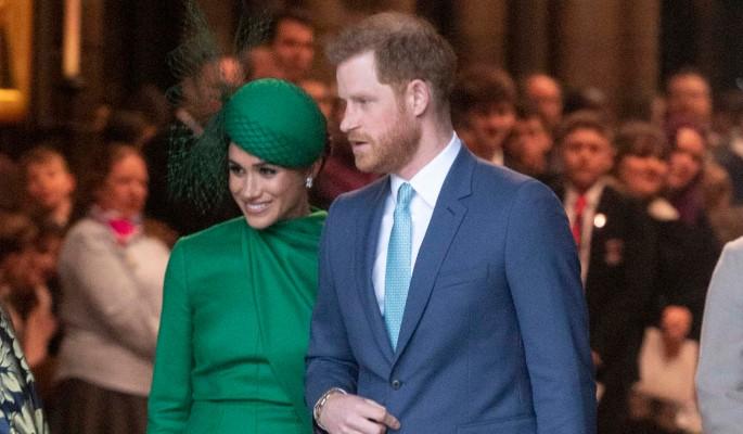 Меган Маркл и принц Гарри впервые появились на публике после переезда