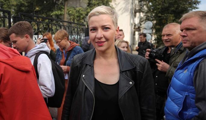 Соратницу Тихановской задержали в Минске и увезли в неизвестном направлении