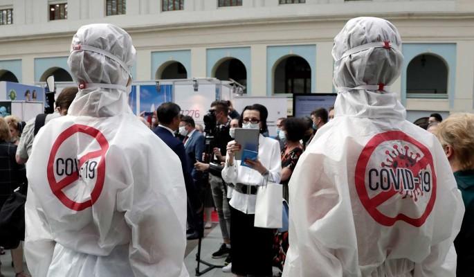 В России начался подъем заболеваемости COVID-19