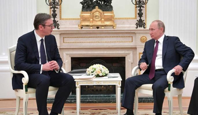 Путин извинился перед президентом Сербии за публикацию Захаровой